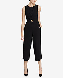 RACHEL Rachel Roy Addison Twisted Jumpsuit, Created for Macy's