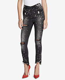 RACHEL Rachel Roy Ripped Skinny Jeans, Created for Macy's