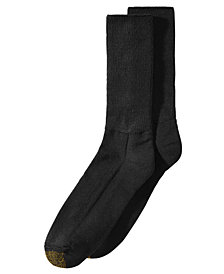 Gold Toe Men's 2-Pk. Soft Crew Socks