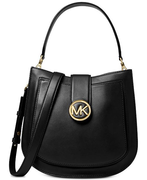 7c071f8d0a66 Michael Kors Lillie Polished Leather Crossbody   Reviews - Handbags ...