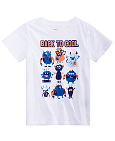 Epic Threads Toddler Boys Back to Cool Graphic T-Shirt, Created for Macy's