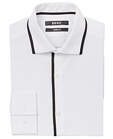 Big Boys Trim Tuxedo Shirt