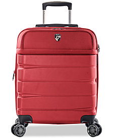"Heys Charge-A-Weigh 21"" Hybrid Carry-On Spinner Suitcase"