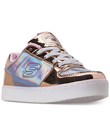 Skechers Little Girls' S Lights: Energy Lights Shiny Sneaks Light-Up Athletic Sneakers from Finish Line