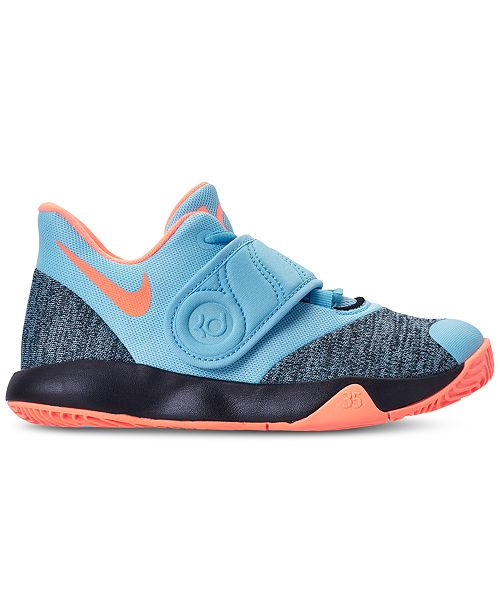 ... blue chill orange pulse 325f7 a33bc  discount nike little boys kd trey  5 vi basketball sneakers from finish line finish line athletic b3871c319