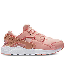Nike Little Girls' Air Huarache Run SE Running Sneakers from Finish Line