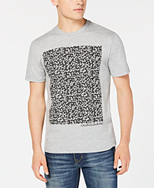 Calvin Klein Jeans Men's Floral-Block Graphic T-Shirt