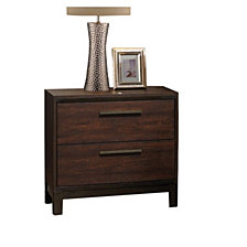 Allerton Transitional Two-drawer Nightstand