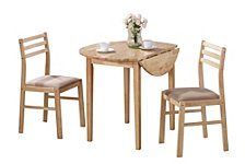 Morningside Contemporary Three-Piece Dinette Set