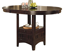 Fieldston Transitional Counter Height Table