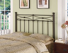 Elmhurst Traditional Full-Queen Metal Headboard, Quick Ship