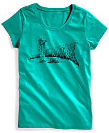 EMS® Women's Moose With A View Graphic Cotton T-Shirt