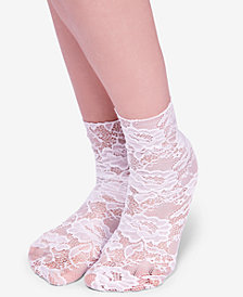 Free People Bella Lace Crew Socks