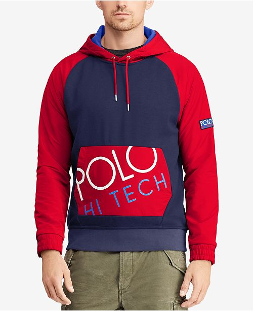 3abf3529d Polo Ralph Lauren Men's Hi Tech Hybrid Hoodie & Reviews - Casual ...