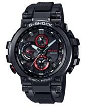 cb2c97c6a2a G-Shock Men s Solar Analog-Digital Black Resin Strap Watch 51.7mm