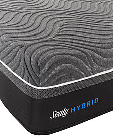 "Sealy Silver Chill 14"" Hybrid Cushion Firm Mattress- California King"