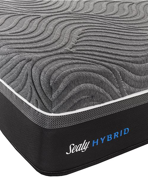 "Sealy Silver Chill 14"" Hybrid Firm Mattress-King"