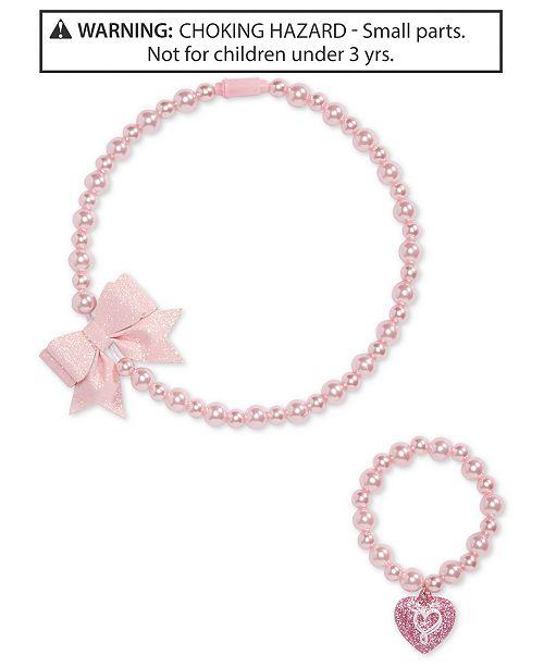 6bab45741 On the Verge Little & Big Girls 2-Pc. JoJo Siwa Necklace & Bracelet. Macy's  / Kids ...