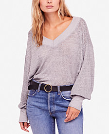 Free People Southside Thermal Pullover Top