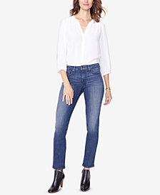 NYDJ Sheri Straight-Leg Jeans