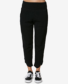 O'Neill Juniors' Lima Woven Cotton Pants