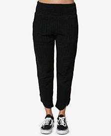 O'Neill Juniors' Lima Woven Cotton Pants