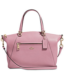 Coach purses at macys the latest coach purse styles shop coach coach prairie satchel in pebble leather mightylinksfo