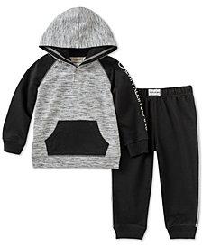 Calvin Klein Baby Boys 2-Pc Hoodie & Jogger Pants Set