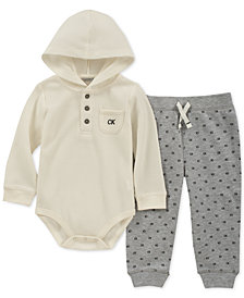 Calvin Klein Baby Boy's 2-Pc. Long Sleeve & Pant Set