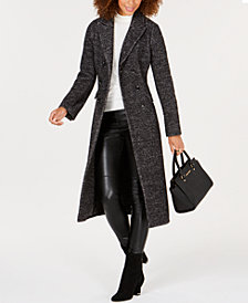 MICHAEL Michael Kors Double-Breasted Midi Coat