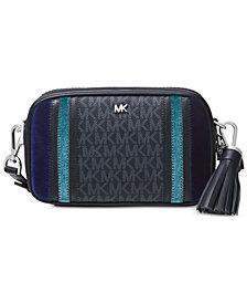 MICHAEL Michael Kors Signature Tricolor Camera Bag