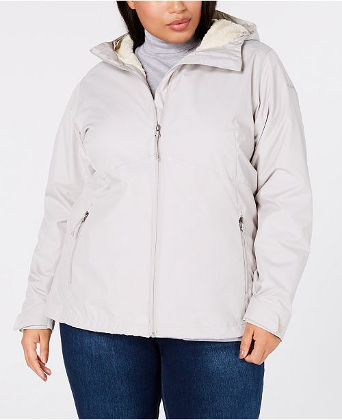 f5520761e09 ... Jacket  Columbia Plus Size Rainie Falls trade  Waterproof Fleece-Lined  ...
