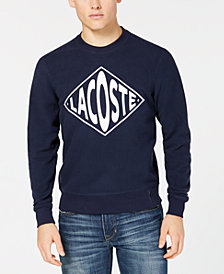 Lacoste Men's LIVE Logo Graphic Sweatshirt