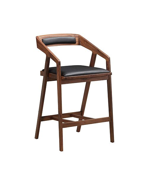 Moe's Home Collection Padma Counterstool Black
