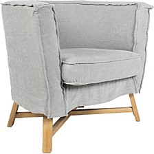 Grand Club Chair Light Gray