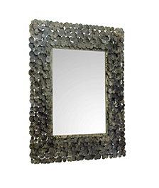 Moon Shadow Mirror Rectangular Antique