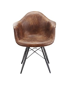 Flynn Club Chair - Light Brown