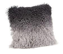 Lamb Fur Pillow Gray Spectrum