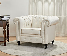Wilmington Button Tufted Arm Chair