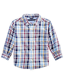 Tommy Hilfiger Baby Boy Albert Multii-Plaid Shirt