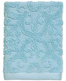 Avanti Tiles Cotton Terry Washcloth
