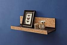 Organize it All  Cork Wall Mounting Shelf