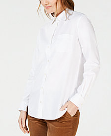 Weekend Max Mara Cotton Button-Down Shirt