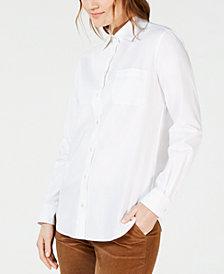 Weekend Max Mara Cotton Button-Down Shirt