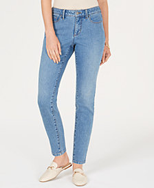 Charter Club Petite Cropped Skinny Jeans Created for Macy's