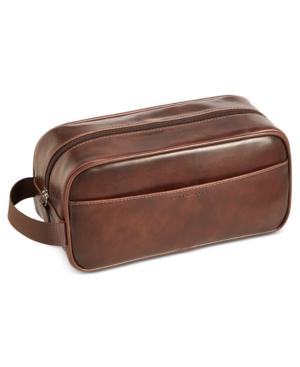 Perry Ellis Men's Faux-Leather...