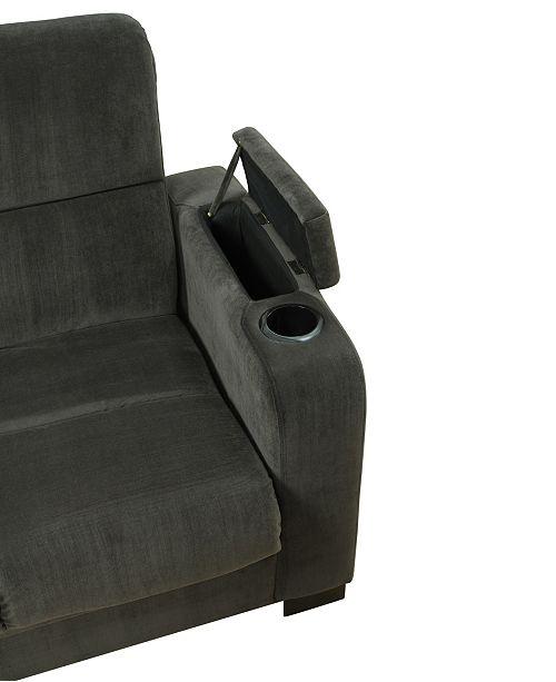 Admirable Velvet Susan Storage Arm Convert A Couch Frankydiablos Diy Chair Ideas Frankydiabloscom