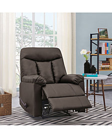 ProLounger® Wall Hugger Coffee Brown Renu Recliner