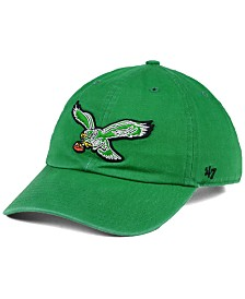 '47 Brand Philadelphia Eagles CLEAN UP Strapback Cap