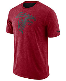 Nike Men's Atlanta Falcons Dri-Fit Cotton Slub On-Field T-Shirt